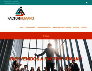 factor-humano.com.mx screenshot