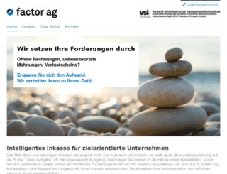 factor.ch screenshot