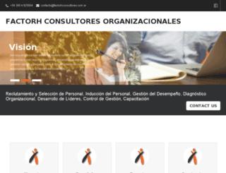 factorhconsultores.com.ar screenshot