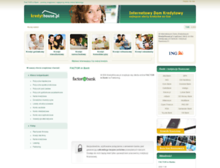 factorinbank.kredythouse.pl screenshot