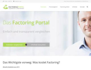 factoring-information.com screenshot