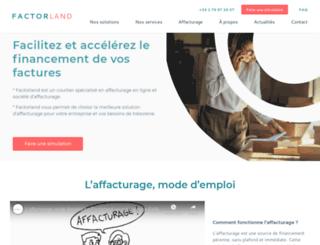 factorland.fr screenshot