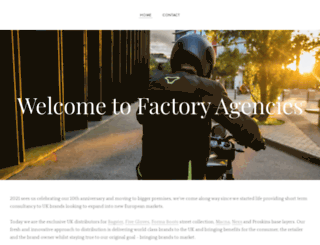 factoryagencies.co.uk screenshot