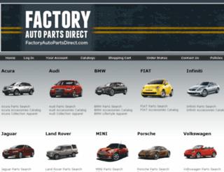 factoryautopartsdirect.com screenshot