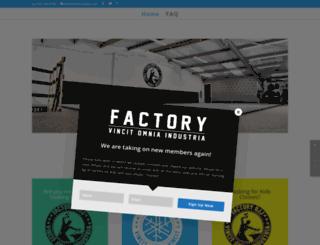 factorybjj.com screenshot