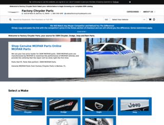 factorychryslerparts.com screenshot