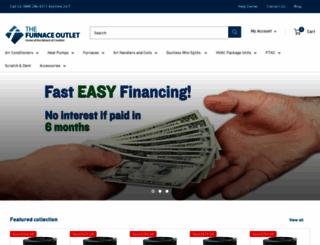 factoryfurnaceoutlet.com screenshot