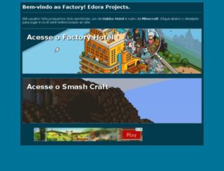 factoryhotel.com.br screenshot