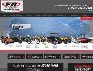 factoryrecreation.com screenshot