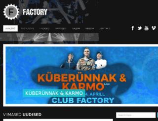 factorytallinn.com screenshot