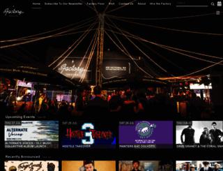 factorytheatre.com.au screenshot