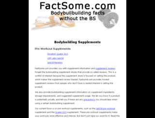 factsome.com screenshot