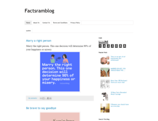 factsram.blogspot.com screenshot