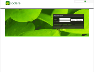 factura-mx.codere.com screenshot