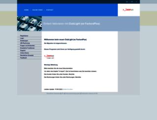 facturaplus.ch screenshot