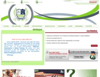 faculdadesaofrancisco.com.br screenshot