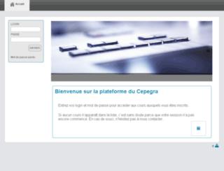 fad.cepegra.be screenshot