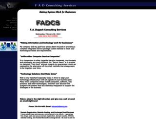 fadcs.com screenshot