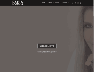 fadiaelmendelek.com screenshot