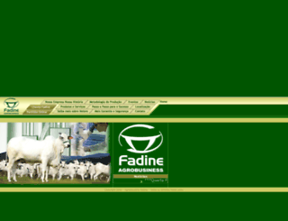 fadine.com.br screenshot