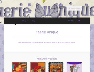 faerieunique.com screenshot