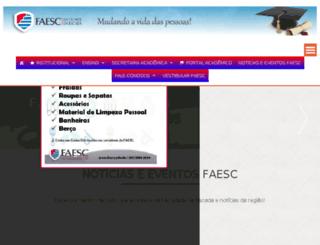 faesc.com screenshot