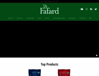 fafard.com screenshot