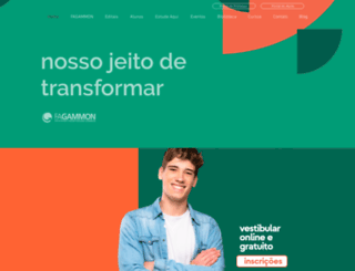 fagammon.edu.br screenshot