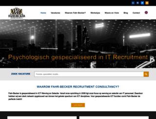 fahr-becker.nl screenshot