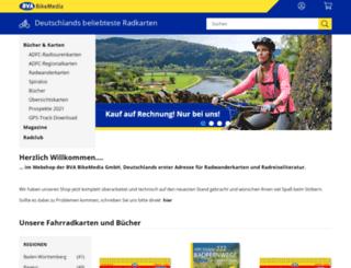 fahrrad-buecher-karten.de screenshot