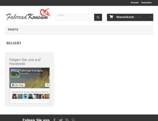 fahrrad-konsum.de screenshot