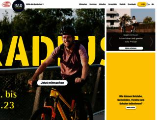 fahrradwettbewerb.at screenshot