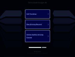 fahrschule-trugge.de screenshot