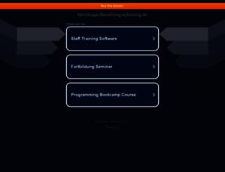 fahrzeugaufbereitung-schulung.de screenshot