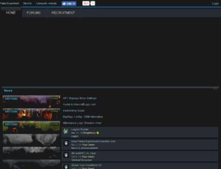 failed-experiment.enjin.com screenshot