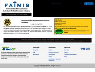 faimis.webce.com screenshot