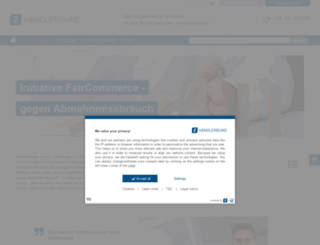 fair-commerce.de screenshot