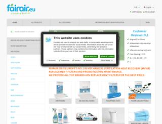fairair.eu screenshot