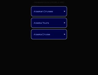fairbanksrollergirls.org screenshot