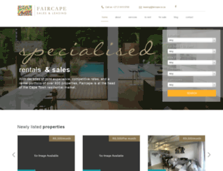 faircapeleasing.co.za screenshot
