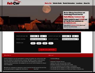 faircar.is screenshot