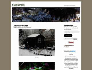 fairegarden.wordpress.com screenshot