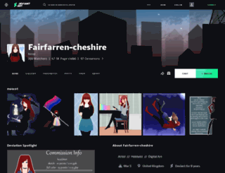 fairfarren-cheshire.deviantart.com screenshot