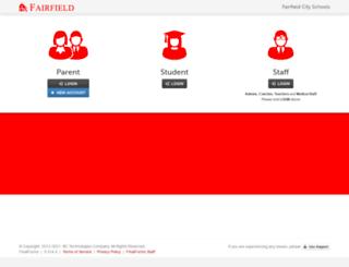 fairfield-oh.finalforms.com screenshot