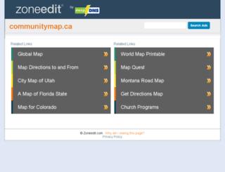 fairfield.communitymap.ca screenshot