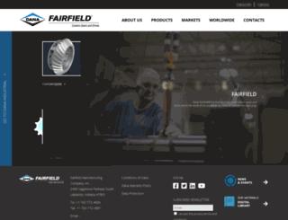 fairfieldmfg.com screenshot