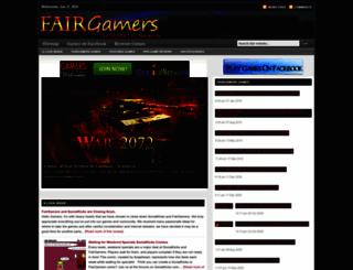 fairgamers.com screenshot