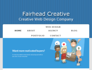 fairheadcreative.bravesites.com screenshot