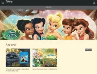 fairies.disney.fr screenshot