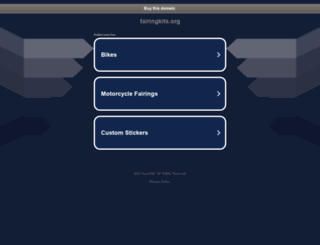 fairingkits.org screenshot